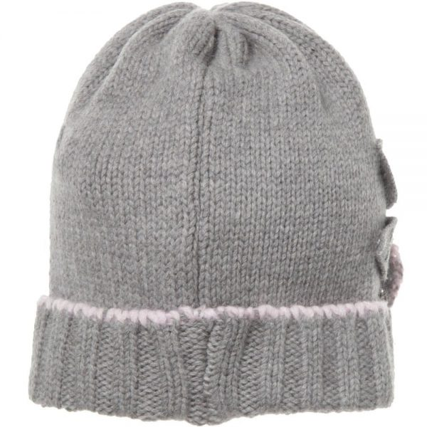 ALETTA Grey Wool & Cashmere Hat 1