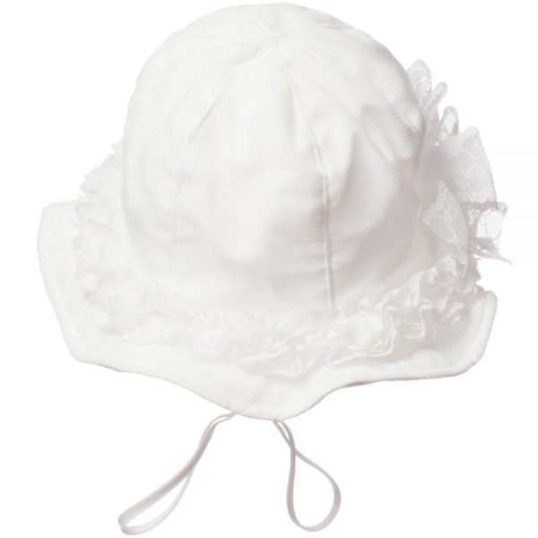 ALETTA Ivory Lace Hat 2