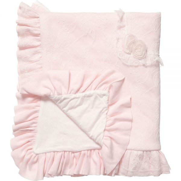 ALETTA Padded Lace Blanket (87cm) 1