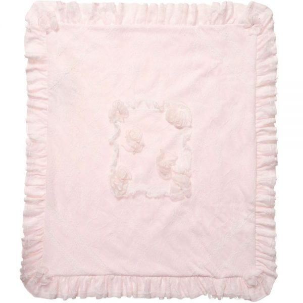ALETTA Padded Lace Blanket (87cm) 2