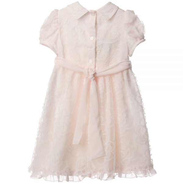 ALETTA Pink Lace & Chiffon Dress 2