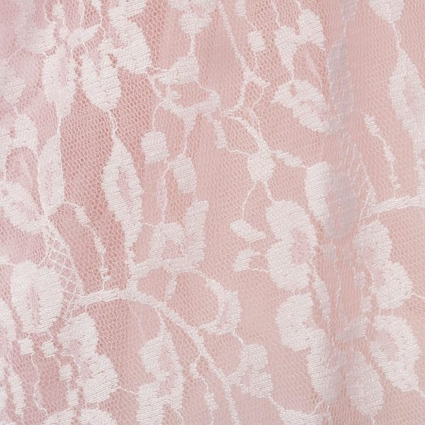 ALETTA Pink Tulle and Lace Dress 3