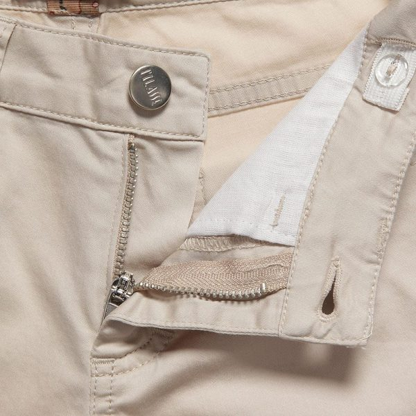 ALVIERO MARTINI Boys Beige Cotton Chino Trousers 1