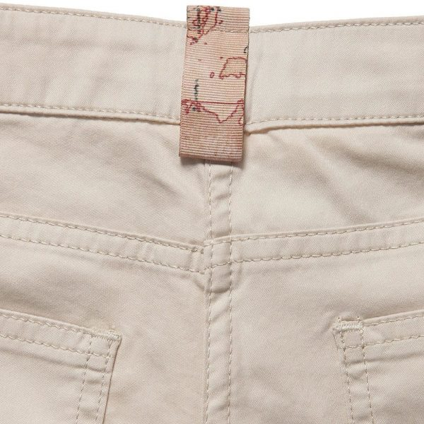 ALVIERO MARTINI Boys Beige Cotton Chino Trousers 3