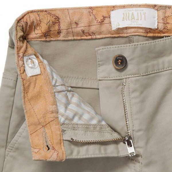 ALVIERO MARTINI Cotton Vintage Map Chino 3