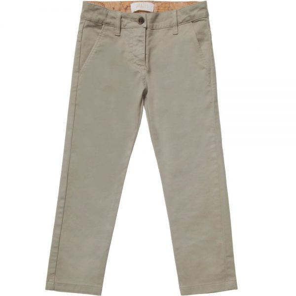 ALVIERO MARTINI Cotton Vintage Map Chino