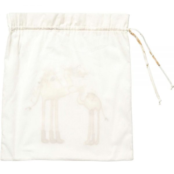 ALVIERO MARTINI Ivory Cotton Bag 1