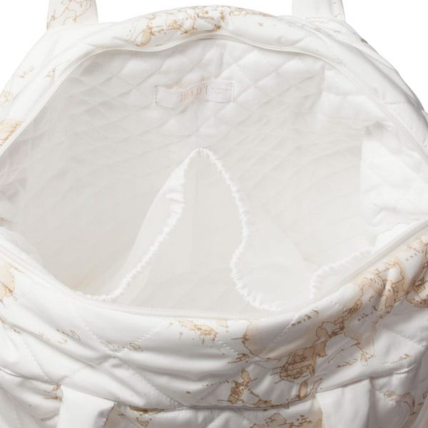 ALVIERO MARTINI Ivory Vintage Map Baby Bag (45cm) 2