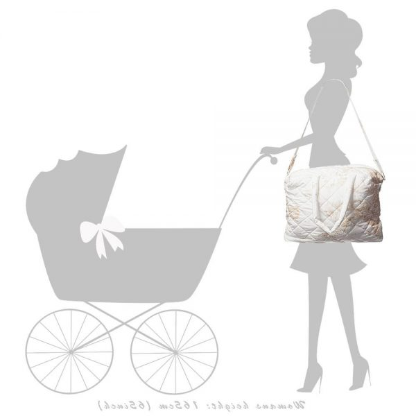 ALVIERO MARTINI Ivory Vintage Map Baby Bag (45cm) 3