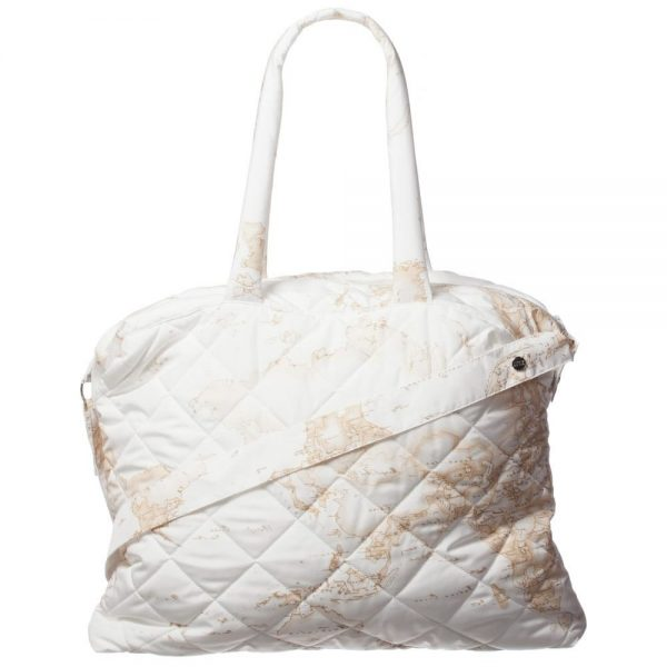 ALVIERO MARTINI Ivory Vintage Map Baby Bag (45cm)