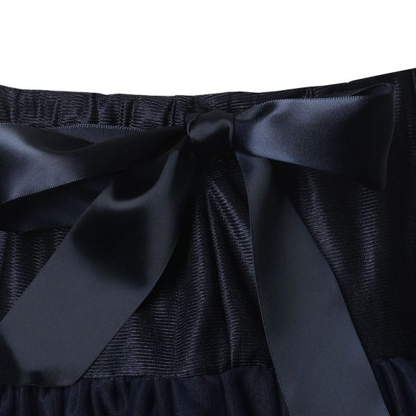 ANGEL'S FACE Navy Blue Chiffon Frilled Tutu Skirt 3