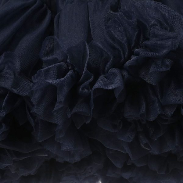 ANGEL'S FACE Navy Blue Chiffon Frilled Tutu Skirt 5