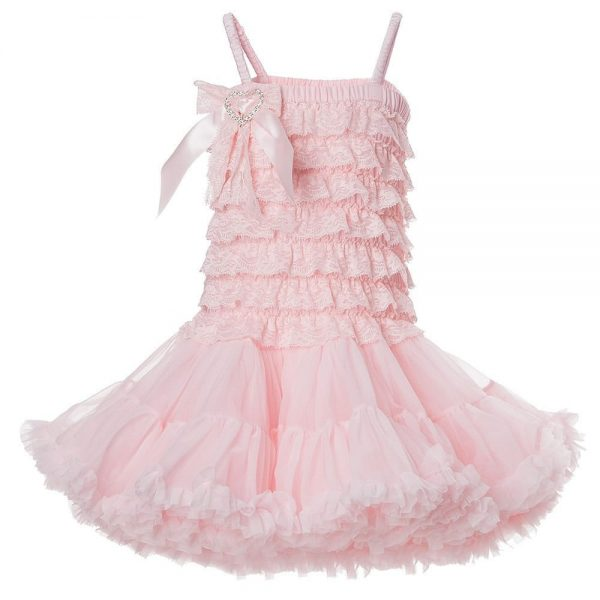 ANGEL'S FACE Pink Lace Tutu Dress