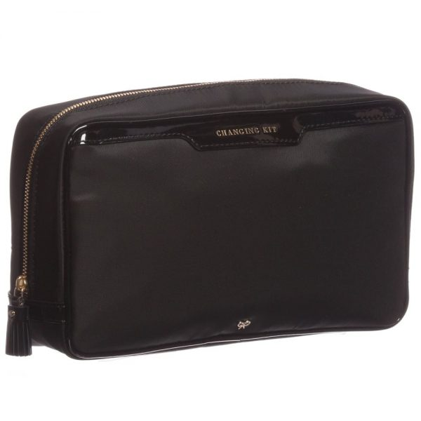 ANYA HINDMARCH Black 'Oakley' Baby Bag (31cm) 4