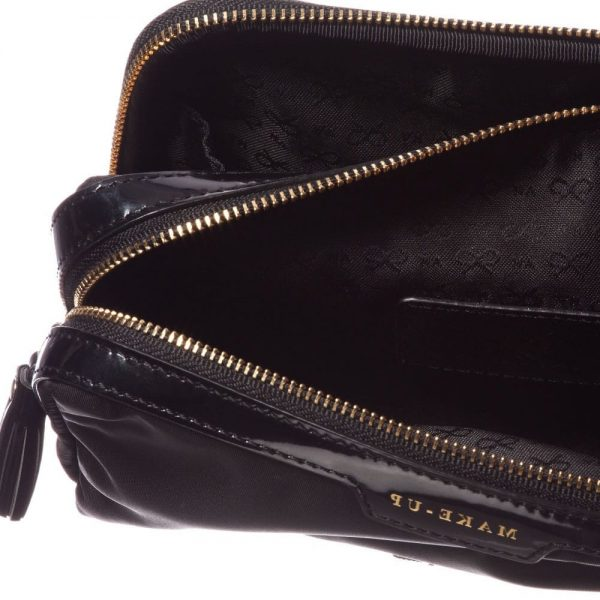 ANYA HINDMARCH Black Small 'Make-Up' Bag (19cm) 2