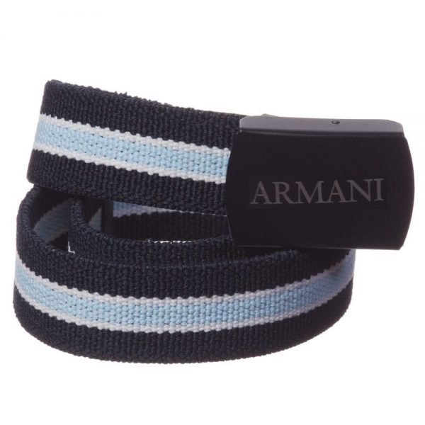 ARMANI-BABY-Baby-Boys-Navy-Blue-Elasticated-Belt-2