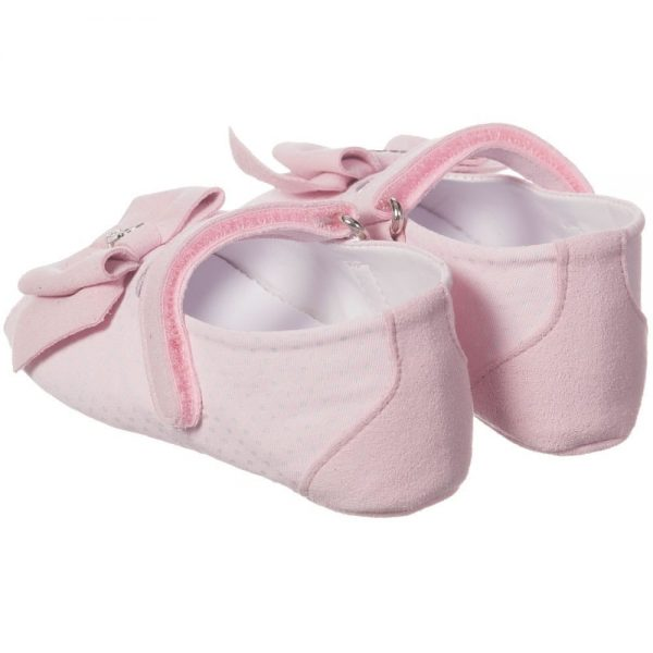 ARMANI BABY Baby Girls Pink Pre-Walker Sandals 2