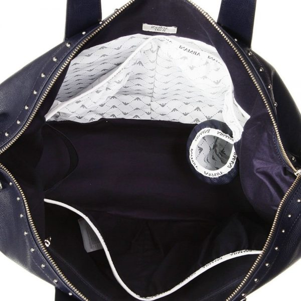 ARMANI BABY Navy Blue Baby Changing Bag (55cm) 3