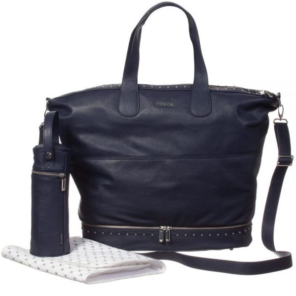 ARMANI BABY Navy Blue Baby Changing Bag (55cm)