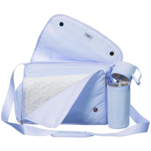 ARMANI BABY Pale Blue Baby Changing Bag (35cm) 3