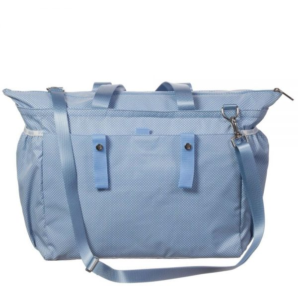 ARMANI BABY Pale Blue Spotty Baby Changing Bag (39cm) 4