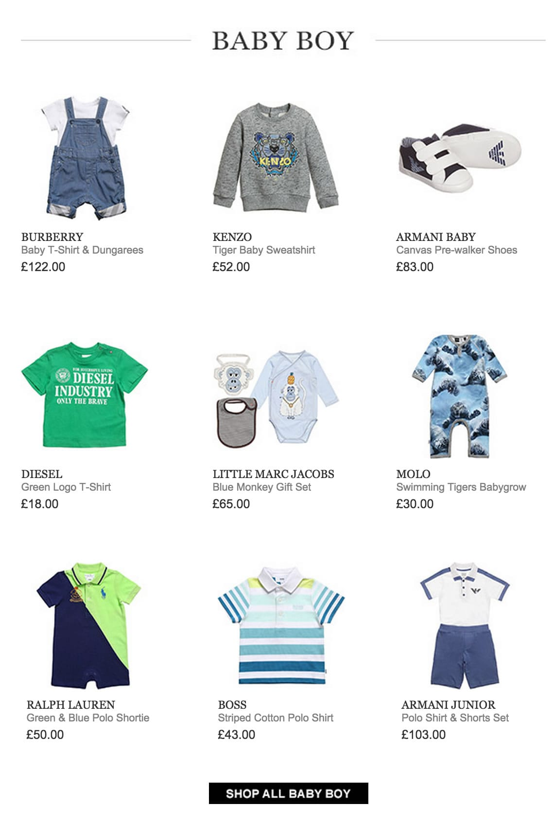 Baby Boy New Collection Spring:Summer 2015