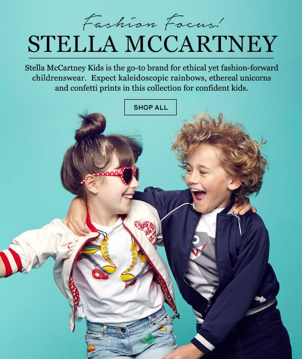 Escape to Fantasia with Stella McCartney Kids