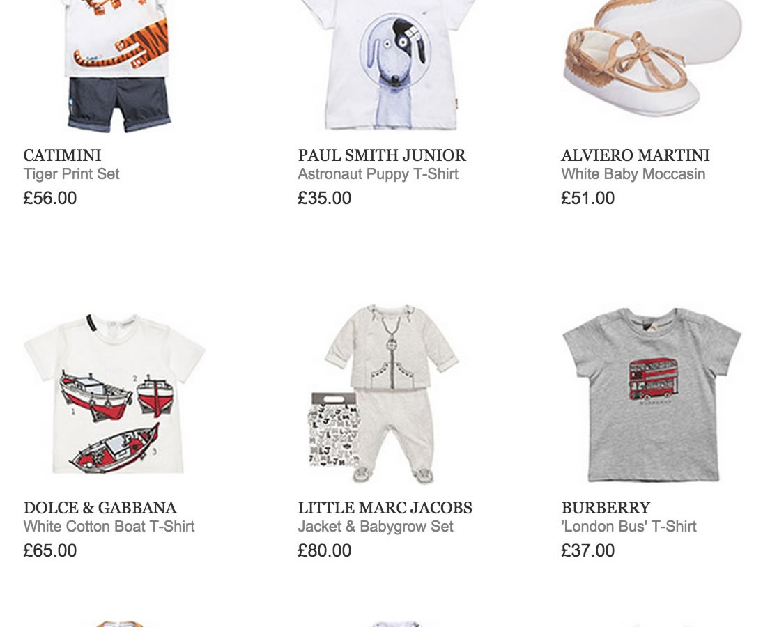 SPRING SUMMER '15 BABY BOY DESIGNER COLLECTION