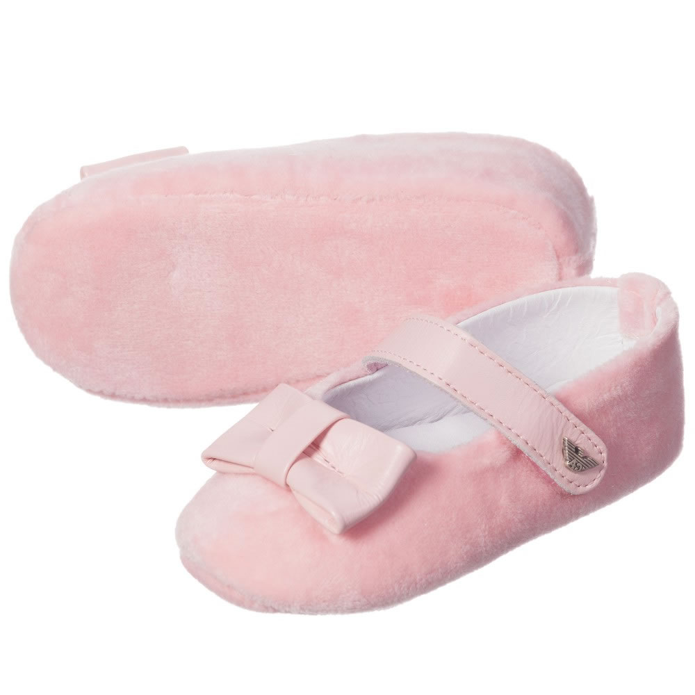 Baby Armani Jelly Shoes