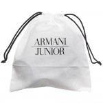 ARMANI BABY Grey Leather Bottle Holder (24cm) 3