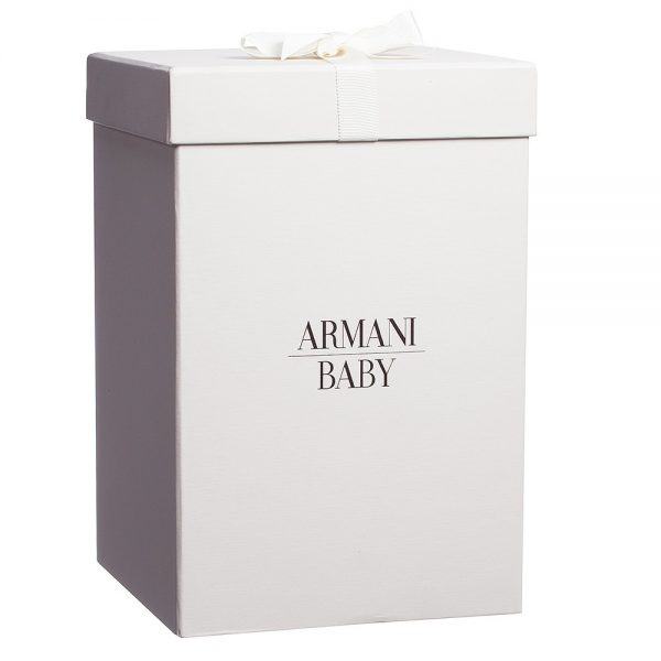 ARMANI BABY Large Soft Toy Duck in a Gift Box (35cm) 4
