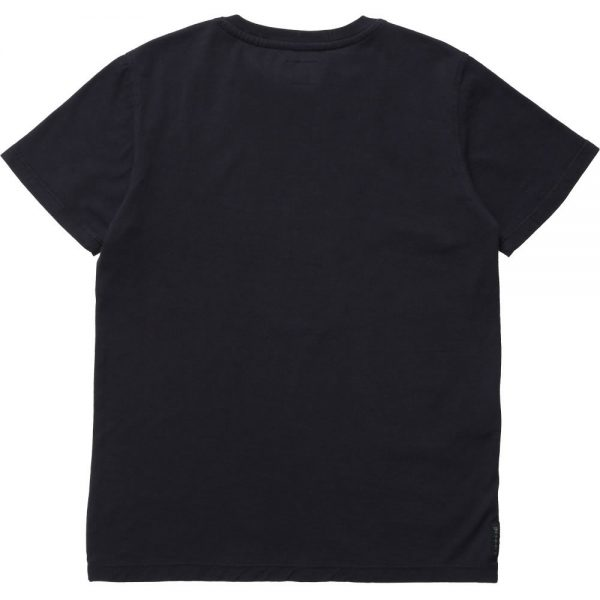 ARMANI TEEN Boys Navy Blue Logo T-Shirt 1