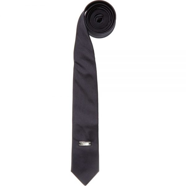 ARMANI TEEN Boys Navy Blue Silk Tie