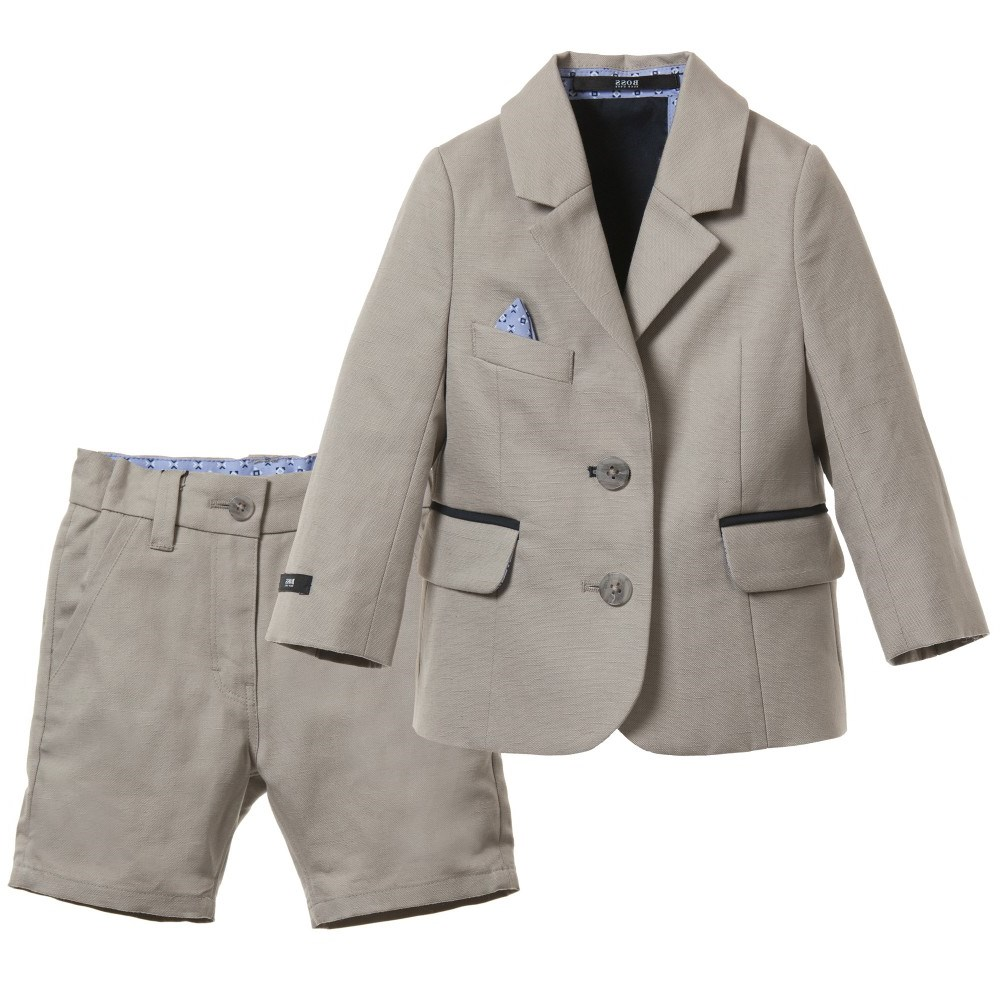 Boss Baby Boys Cotton Amp Linen Blend Shorts Suit Children