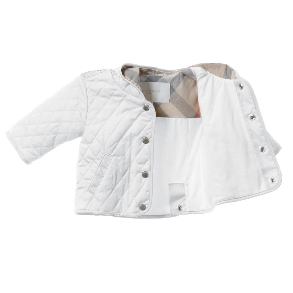 Burberry Childrens Quilted Jacket The Flash Board