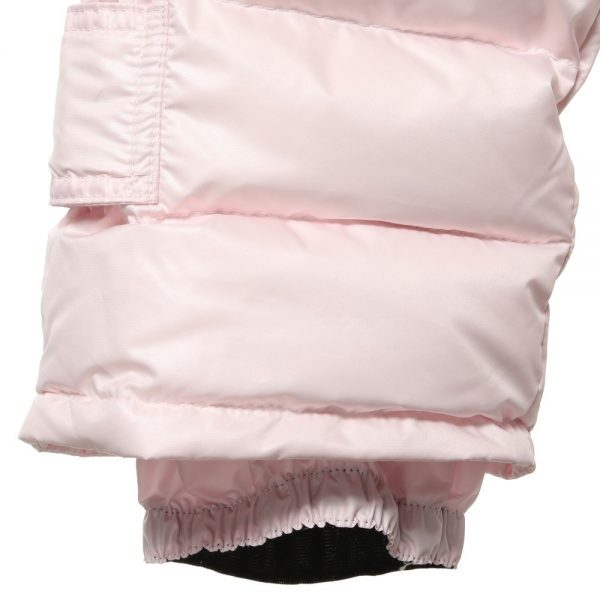CANZITEX Pink Quilted & Down Padded Salopettes 3