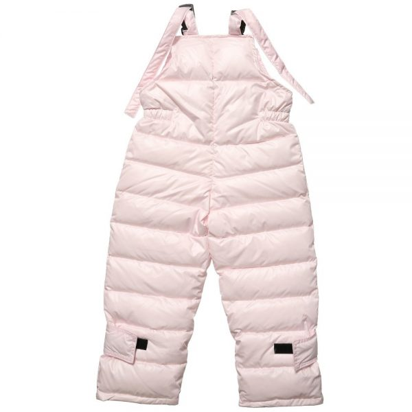 CANZITEX Pink Quilted & Down Padded Salopettes 4