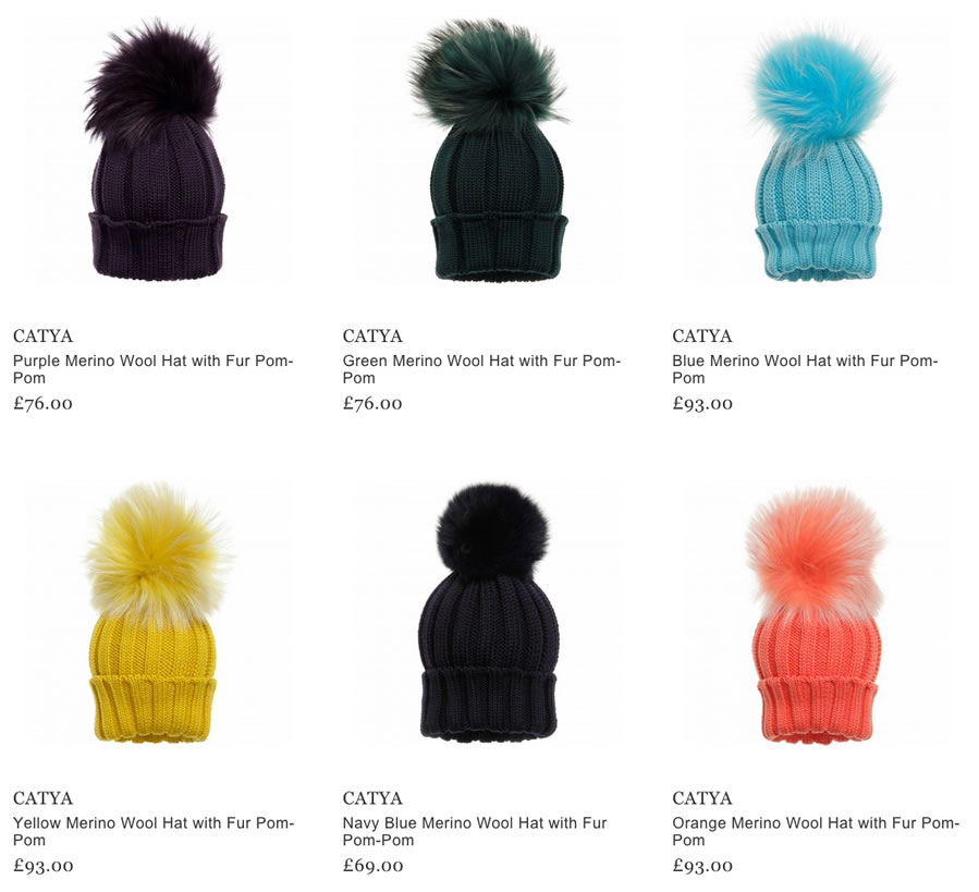 8c64afb6653000 Please, note that all CATYA hats, berets, hairbands and balaclavas are made  in Italy. This is the best guarantee of high quality and trendy design!