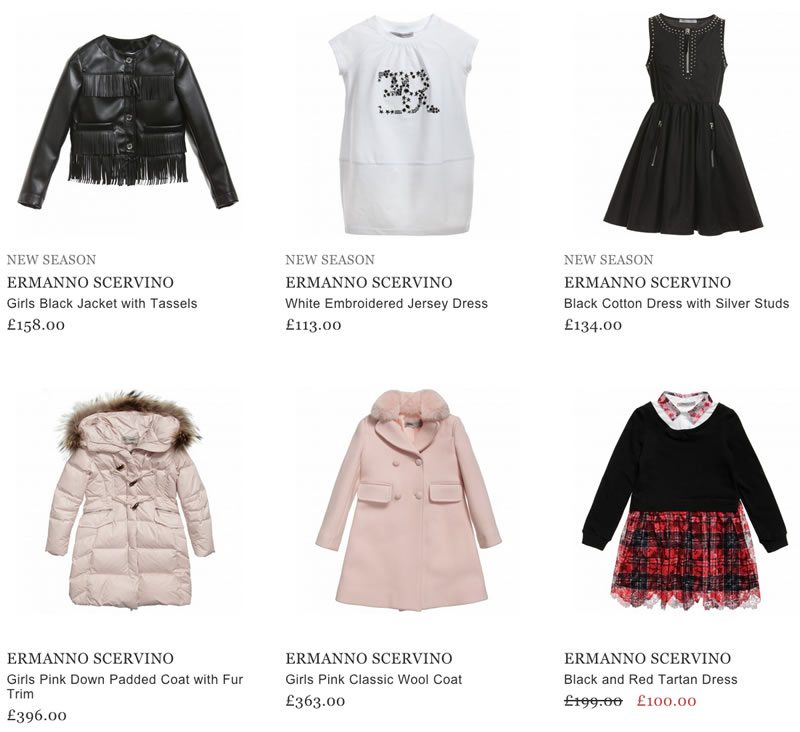 8cc98528045c4 Also it is possible to purchase the products of ERMANNO SCERVINO  collections online.