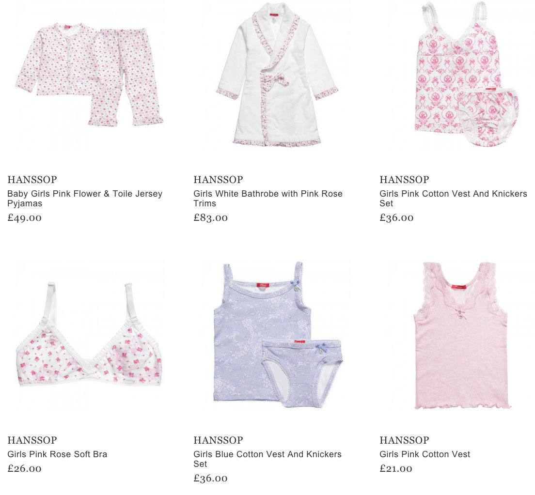 Hanssop Children Clothes