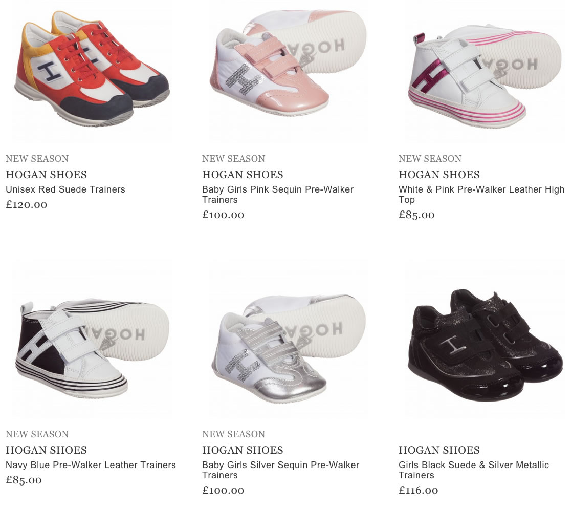 Hogan Shoes for Kids