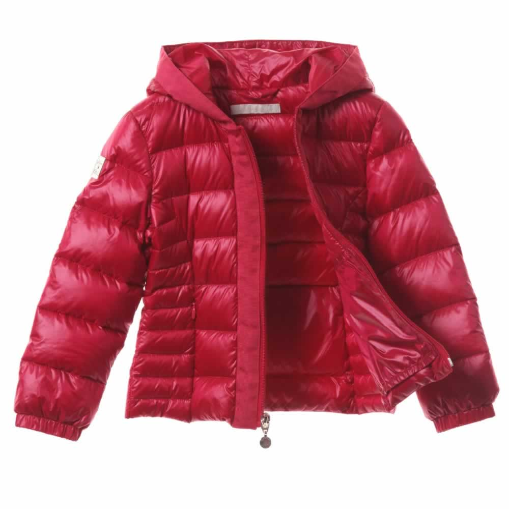combate Más temprano Elasticidad  LIU JO Pink Lightweight Down Padded Puffer Jacket - Children Boutique