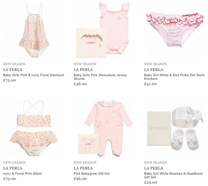 La Perla Children & Baby Clothes