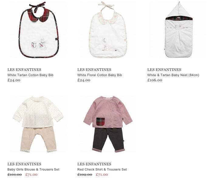Les Enfantines Baby Clothing