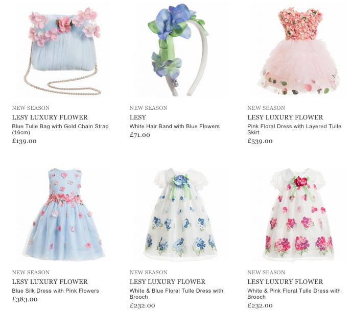 Lesy Girls Clothing & Accessorizes