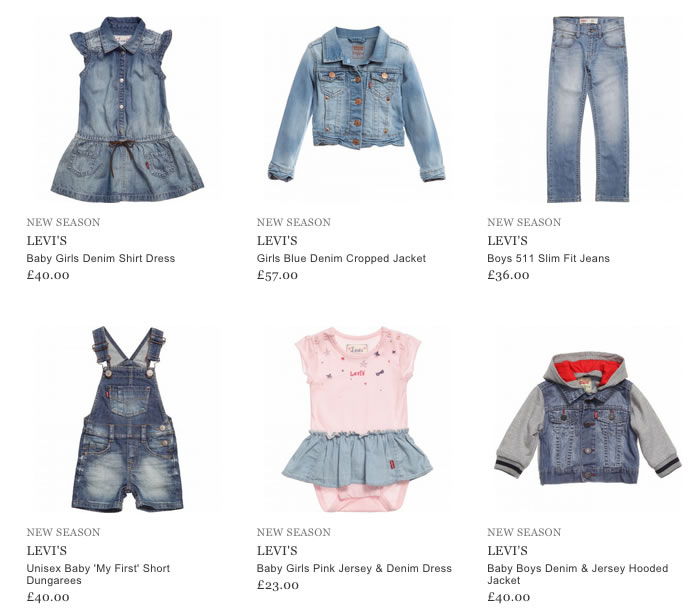 Levi's Children Clothing