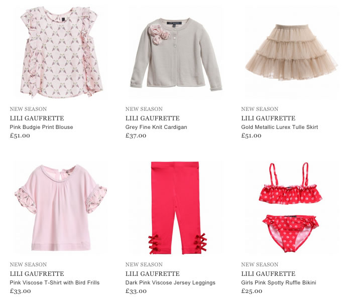 Lili Gaufrette Baby & Kids Clothing