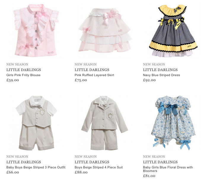 Little Darlings Kids Clothing