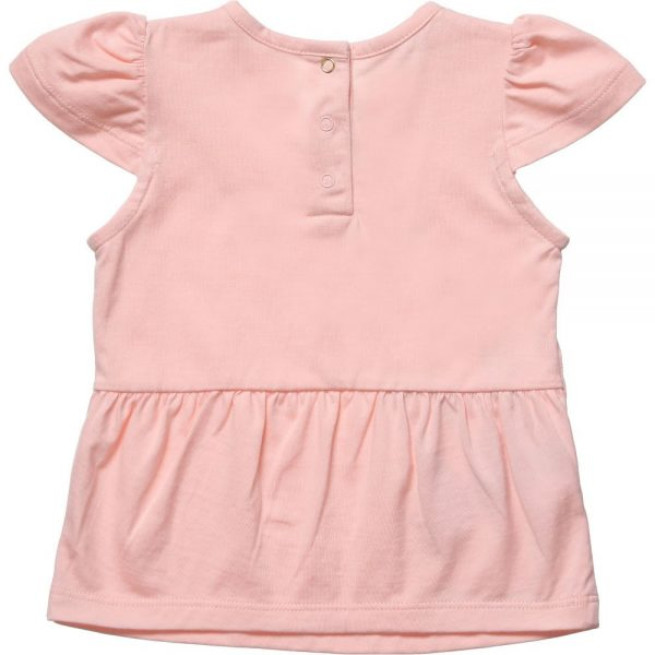 Little Marc Jacobs Baby Girls Pink Bird Print T-Shirt