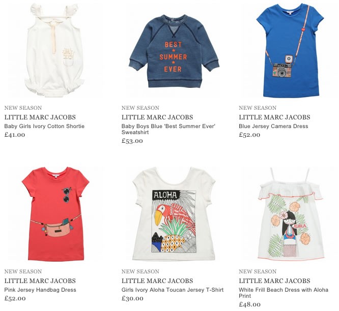 Little Marc Jacobs Children Clothing